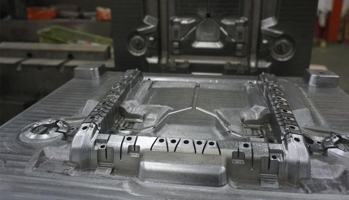 Molde para rapid tooling